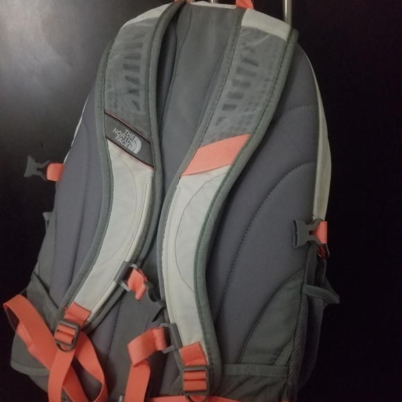 North Face Recon Backpacks /Grey And Orange